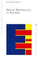 Social Democracy in Europe