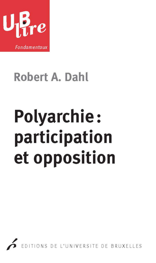Polyarchie: participation et opposition
