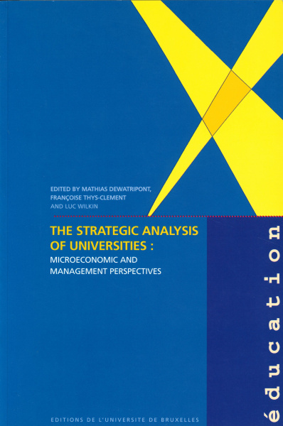 The Strategic Analysis of Universities